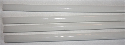 Rods..37-Alabaster White Opaque..6-7mm