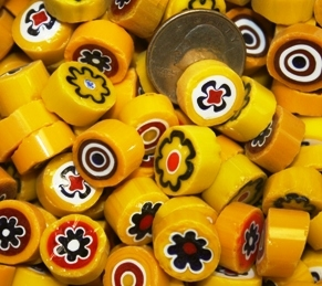 Assorted Yellows..14-16mm